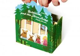 Goldilocks and the Three Bears Paper Theater