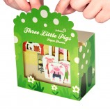 Three Little Pigs Paper Theater