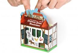 Bremen Town Musicians Paper Theater