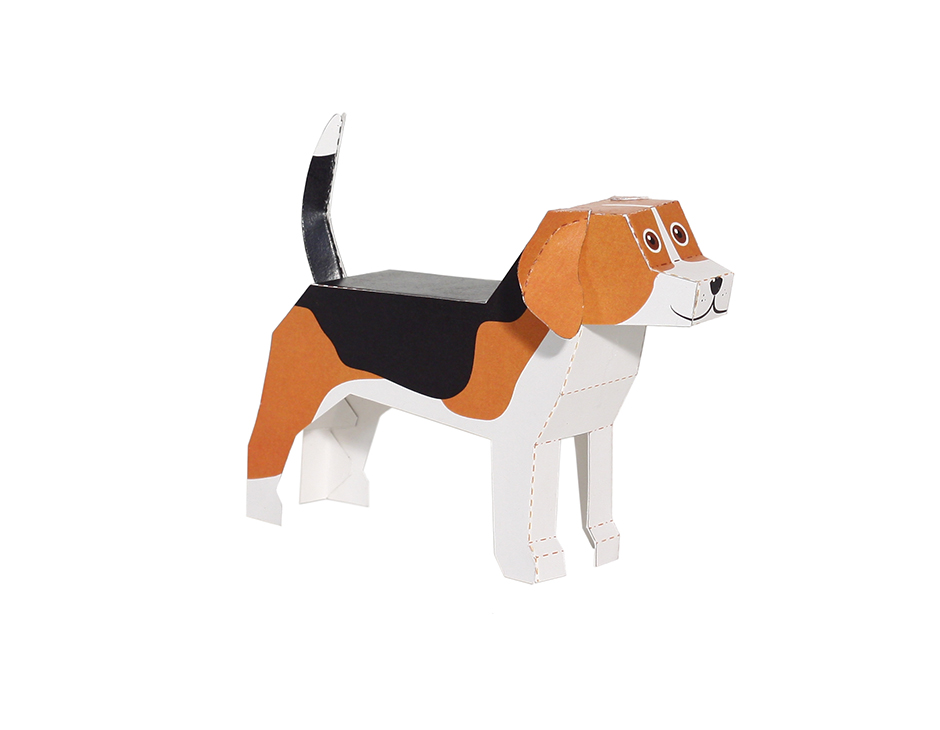 dog papers Dog paper craft for preschool, kindergarten and elementary school children to color, cut and paste.
