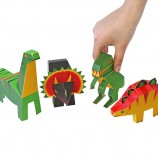 Dinossaurs Paper Toys