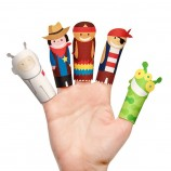 Fantastic Heroes Paper Finger Puppets