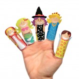 Fantasy Girls Paper Finger Puppets