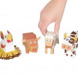 Farm Animals Paper Toys