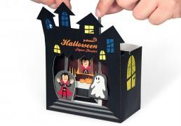 Halloween Paper Theater