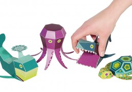Sea Animals Paper Toys