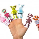 Monsters Paper Finger Puppets
