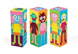 Monsters Paper Blocks I