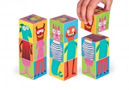 Monsters Paper Blocks II
