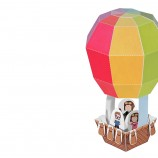 Hot Air Ballon Paper Toy