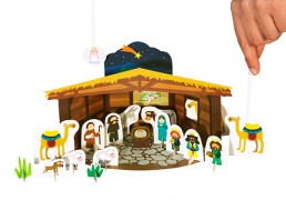 Nativity Scene Paper Theater
